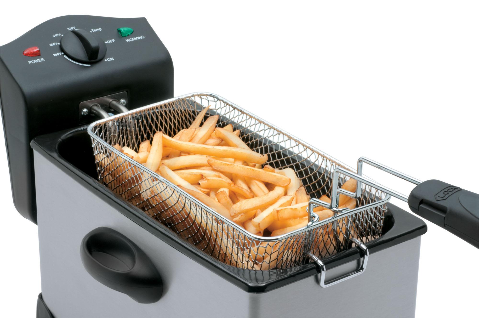 deep fryer - easy clean