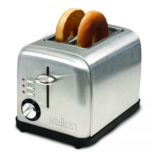 toaster - 2 slice stainless steel
