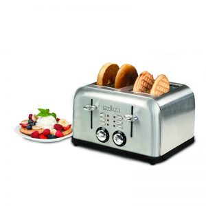 toaster - 4 slice stainless steel
