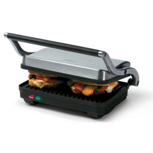 Panini grill - stainless steel