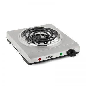 plaque de cuisson simple en acier inoxydable