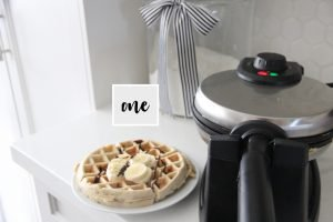 banana bread recipe in a waffle maker
