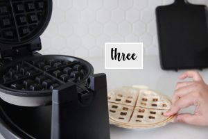 how to make a quesadilla in a waffle maker