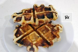 pizza pockets in a waffle maker