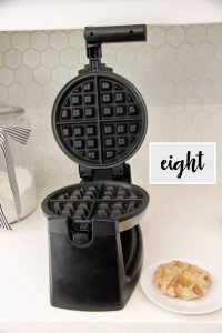 churro recipe in a waffle maker