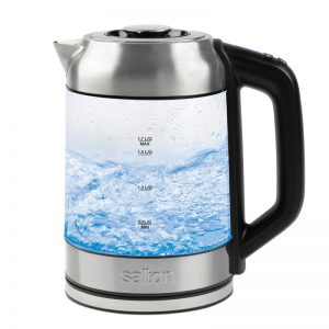 Temperature Control Kettle 1.7L With Tea Steeper