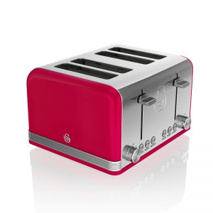 Swan Retro 4 Slice Toaster