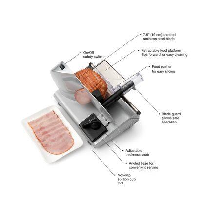 Salton SL1991 Food Meat Slicer