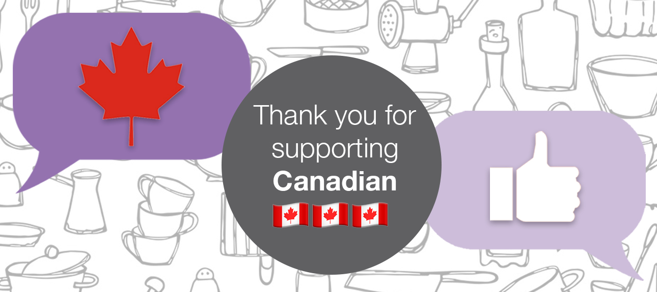 Thank you for supporting Canadian